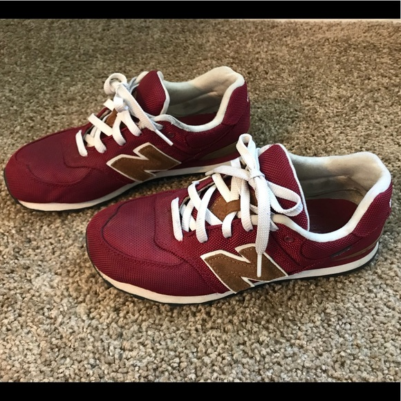 sale retailer dc02f 16299 New balance 564 red brown burgundy classic